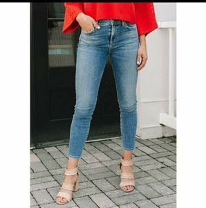 Rocket High Rise Crop Skinny Jeans